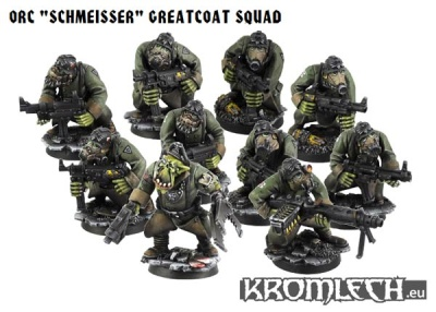 "Orc ""Schmeisser"" Greatcoat Squad (10)"