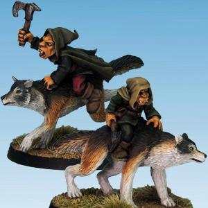 Goblin Wolf Rider Axes