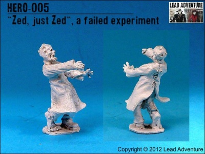 """Zed, Just Zed"", A Failed Experiment (1)"