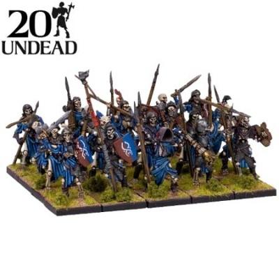 Undead Skeleton Regiment (20)