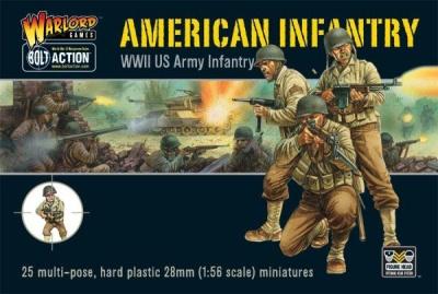 Bolt Action US Infantry (Plastic) (25)