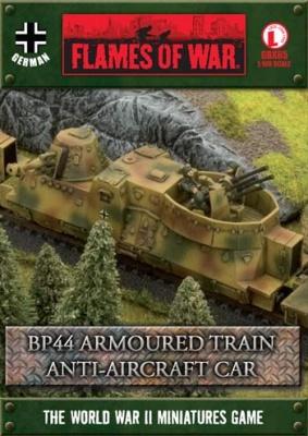 BP44 Armoured Train Anti-aircraft Car