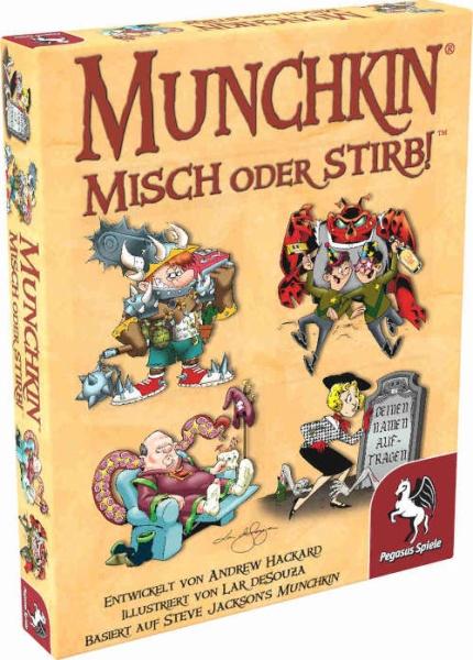 Munchkin: Misch oder stirb!