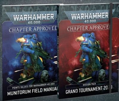 Warhammer 40.000 Chapter Approved 2020 ENGLISCH