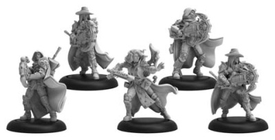 Order of Illumination Vigilants  Mercenary Morrowan Unit (5)
