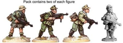 Deutches Afrika Korps Sub Machine Guns (4)