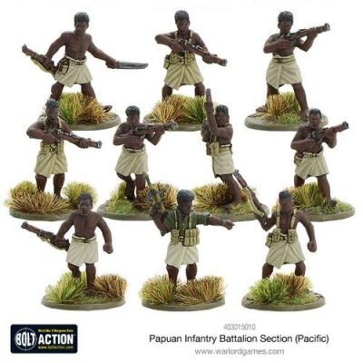 Papuan Infantry Battalion section (Pacific)