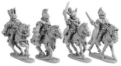 Mounted Macedonian Generals