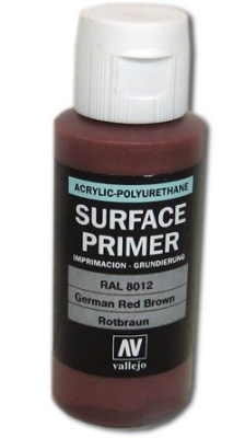 Vallejo Primer German Red Brown (Polyu.) (60ml)