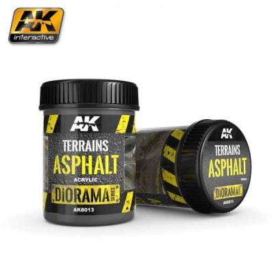 Terrains Asphalt - 250ml (Acryl)