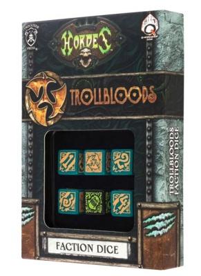 Hordes Trollbloods Dice (6)