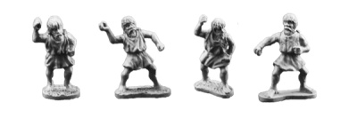 Numidian Skirmishers (8 of 4 designs)