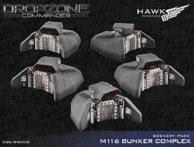 Bunkers Scenery Pack (10)