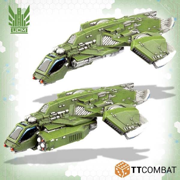 Titania Falcon Light Gunships