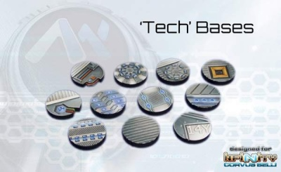 Tech Bases - 25mm round (12)