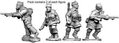 British Commando L.M.G.s (8)