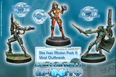 Dire Foes Mission Pack 5: Viral Outbreak