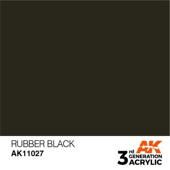 Rubber Black 17ml