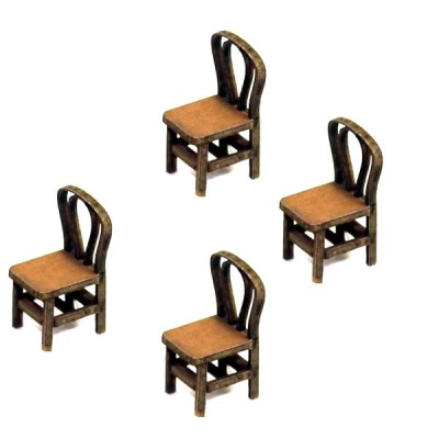 Bentwood Back Chair (Hell)