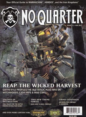 No Quarter Magazine #73