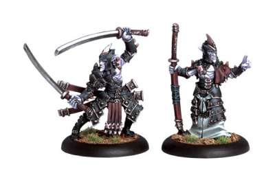 Legion  Blighted Swordsman Champion and Abbot Unit Attachmen