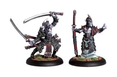 Legion  Blighted Swordsman Champion and Abbot Unit Attachmen