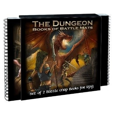The Dungeon Books of Battle Mats - EN