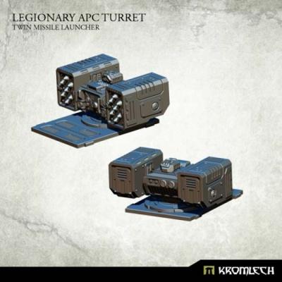 Legionary APC turret: Twin Missile Launcher