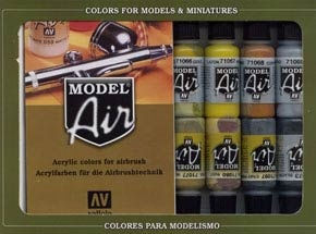 Model Air Set Metallfarben