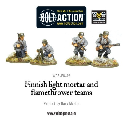 Finnish light mortar and flamethrower teams (4)