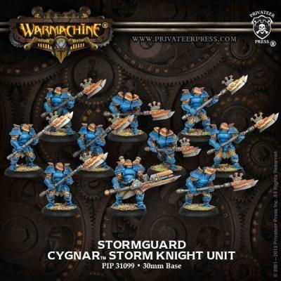 Cygnar Stormguard Unit Box (plastic)