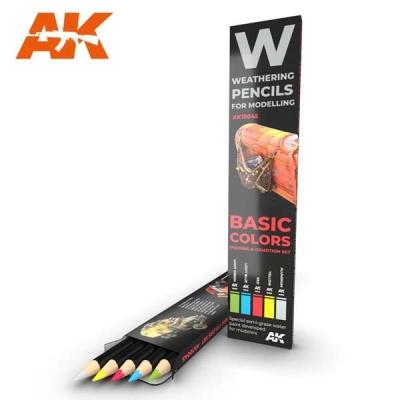 Watercolor Pencil Set Basic Colors