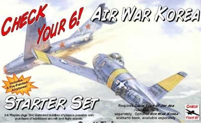 Check Your 6! - Air War Korea Starter Set