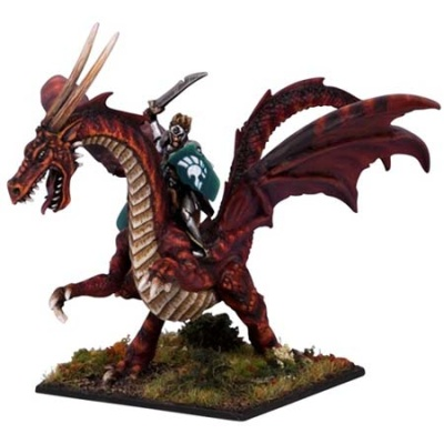 Elven Lord on Battle Dragon