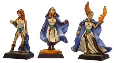 Die Magierin (Dreistufen-Charakter)