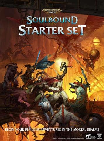 Age of Sigmar Soulbound Roleplaying Game Starter Set