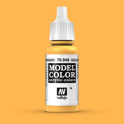 Model Color 016 Safrangelb (Golden Yellow) (948)