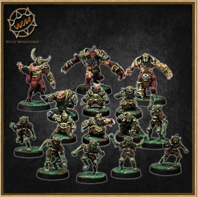 Chaos Dwarf Team