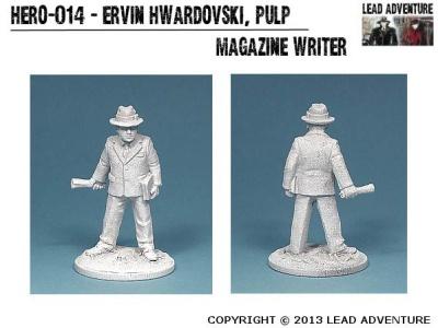 Ervin Hwardovski, Pulp Magazine Writer (1)