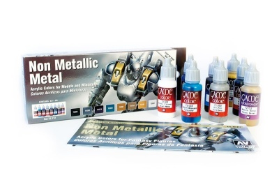 Non Metallic Metal Paintset (8)