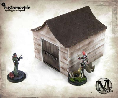 Malifaux Dollhouse Shed