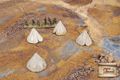 Eastern style military tents 2