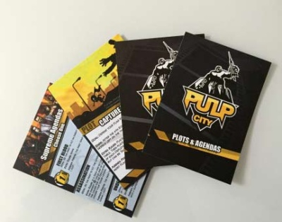 Cards: Plots & Agendas Cards (PC0005)