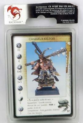 RACKHAM: Chasseur Keltois (2 Modelle)