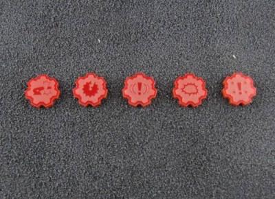 Fahrzeugschaden Marker (rot)