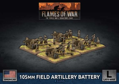 105mm Field Artillery Battery (4)