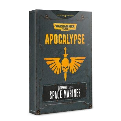 Apocalypse Datasheets: Space Marines ENGLISCH