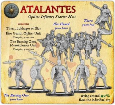 Atalantes Oplites Infantry Starter Host
