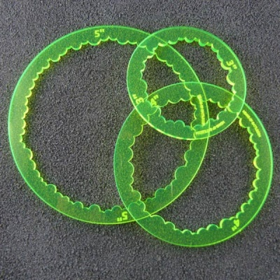 Ring Templates - neon grün (3)