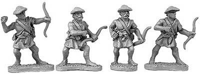 Macedonian archers (random 8 of 4 designs)